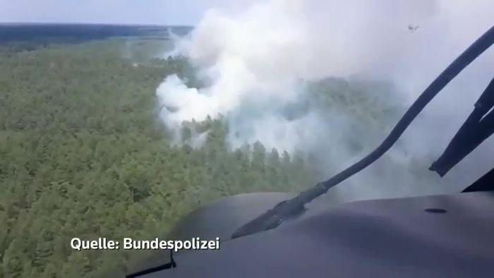 Weitere Ortschaft bei Lübtheen evakuiert