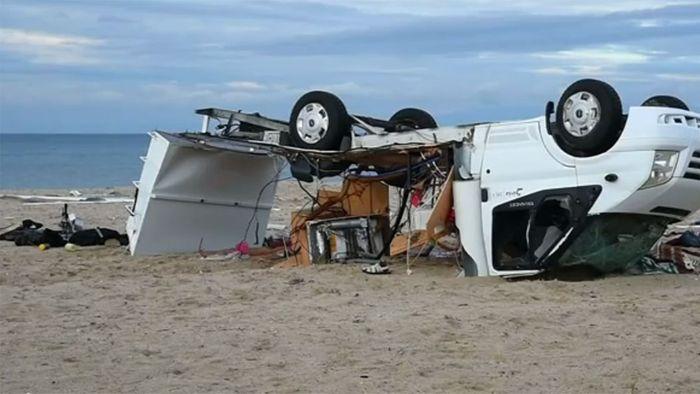 Kapitale Unwetter in Chalkidiki fordern mehrere Todesopfer