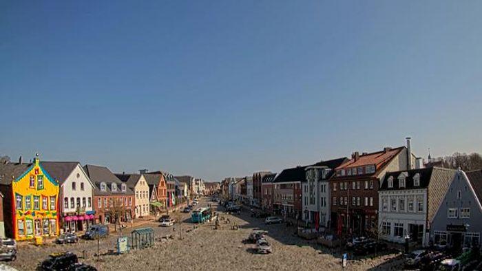 HD Live Webcam Bredstedt - Marktplatz - Nordfriesland