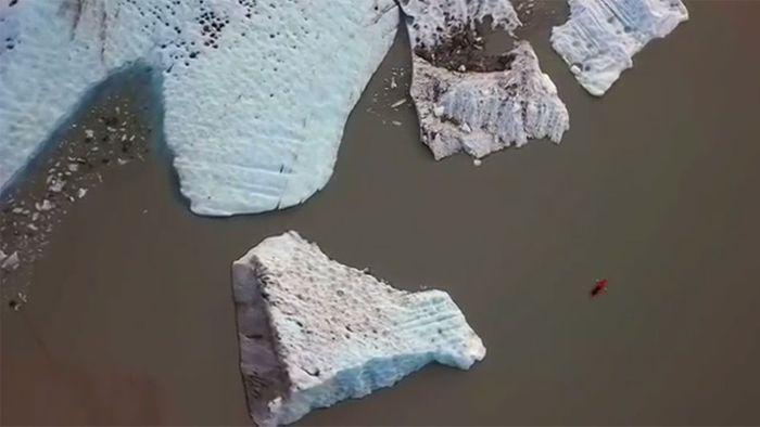 Eisbrocken töten Deutsche und Österreicher in Alaska