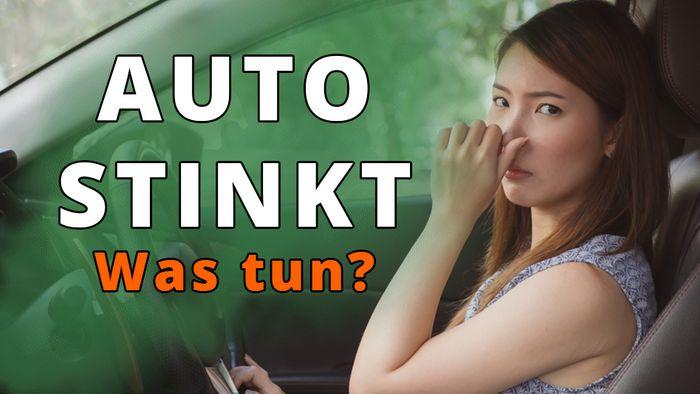 Stinkendes Auto riecht wieder gut