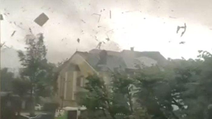 Tornados wüten über Luxemburg und Amsterdam