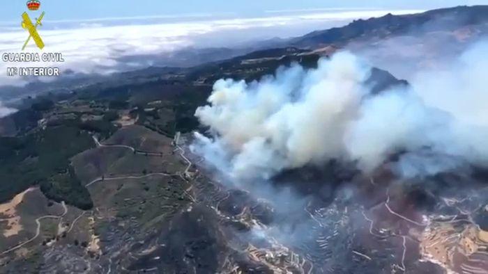 Waldbrände auf Gran Canaria lodern weiter