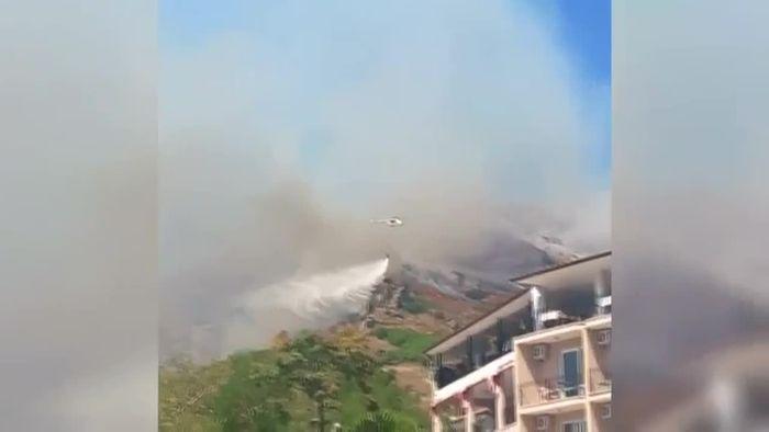 Waldbrände wüten in der Türkei