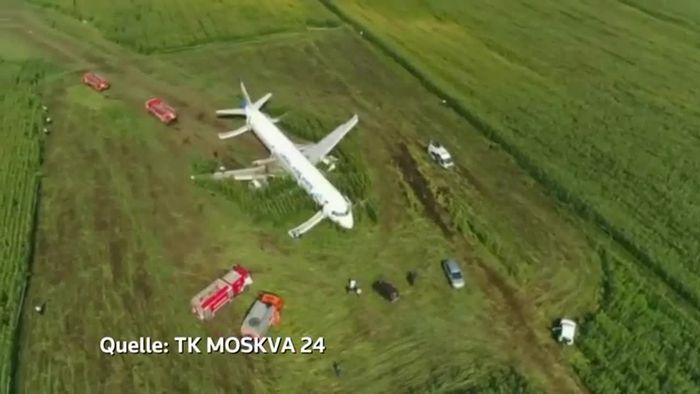 Ein Wunder: Airbus-Notlandung im Maisfeld ohne Todesopfer