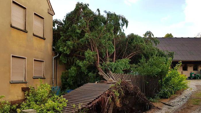 Große Schäden: Unwetter wüten über Deutschland