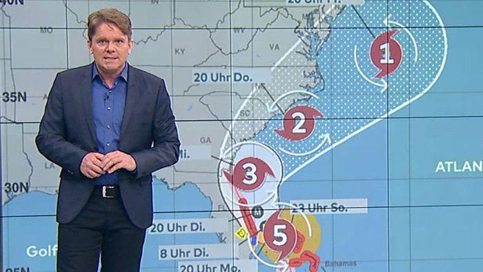 DORIAN ist zweitstärkster Hurrikan der Wetteraufzeichnung