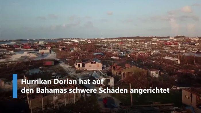Bahamas nach Hurrikan DORIAN: Ein zerstörtes Paradies
