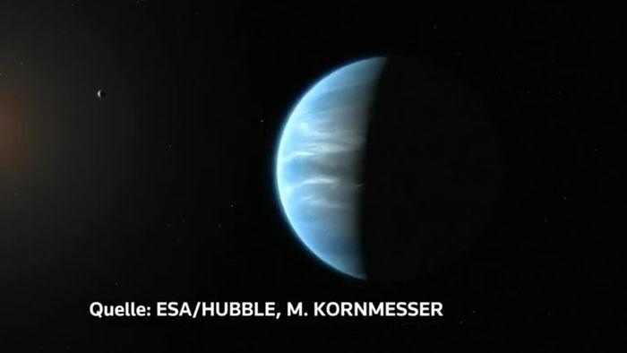 """Wasser auf potenziell """"bewohnbarem"""" Planeten entdeckt"""