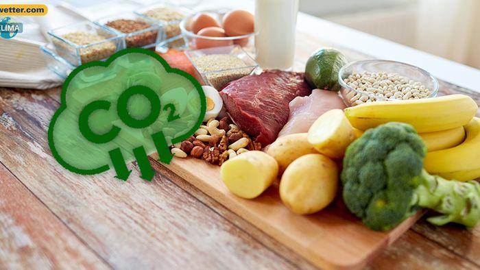 Bei der Ernährung können wir viel CO2 sparen.