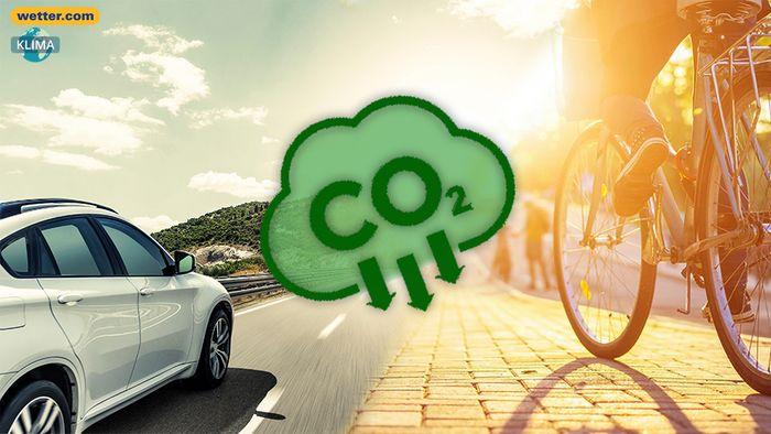 Beim CO2 sparen im Verkehr gibt es mehr Alternativen als nur das Fahrrad.