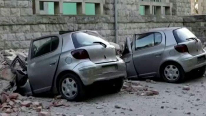Panik und viele Verletzte: Erdbeben erschüttert Albanien