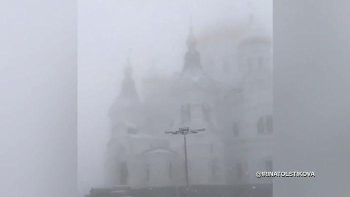 Ungewöhnlich früher Wintereinbruch in Russland