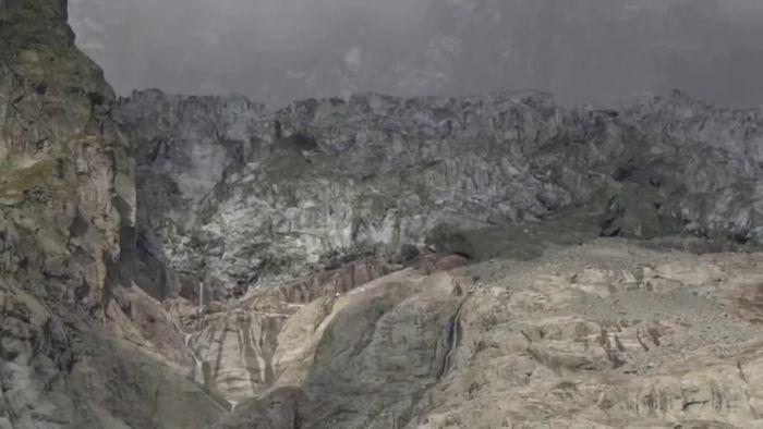 Große Gefahr! Gletscher-Kollaps am Mont Blanc bedroht Ortschaft