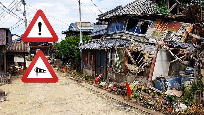 Riesen Ausmaße! Taifunmonster bedroht Japan