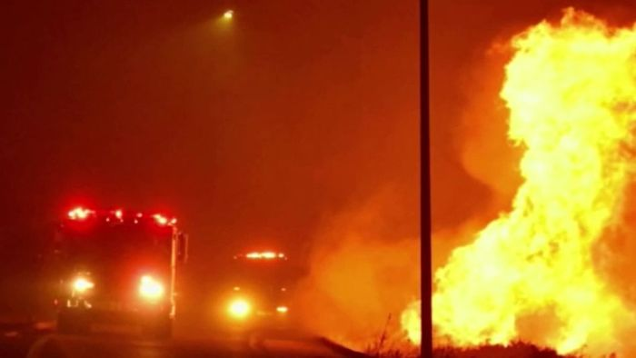Hunderttausende ohne Strom: Verheerende Brände in Kalifornien