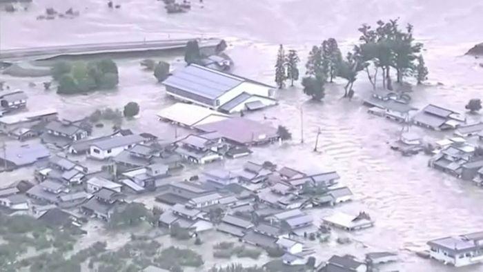 Viele Tote und Überschwemmungen durch Taifun HAGIBIS