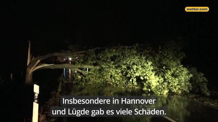 Unwetter-Bilanz: Starkregen setzt Keller unter Wasser