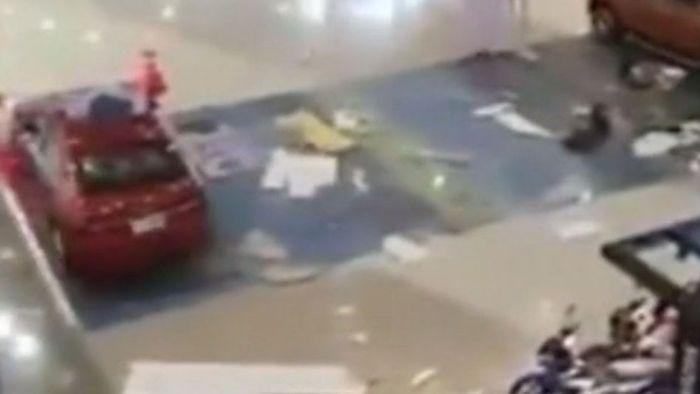 Panik im Einkaufszentrum: Erdbeben erschüttert die Philippinen