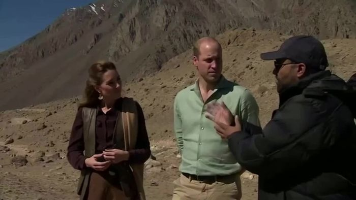 Gletscherschmelze in Pakistan: William und Kate läuten Alarmglocken