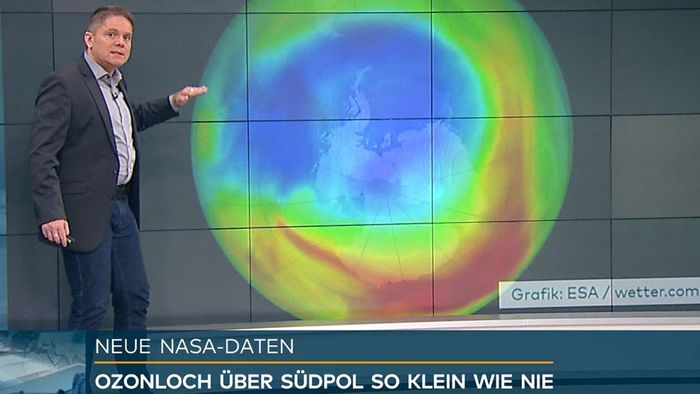 Wegen Wetterphänomen: Ozonloch über Antarktis so klein wie nie