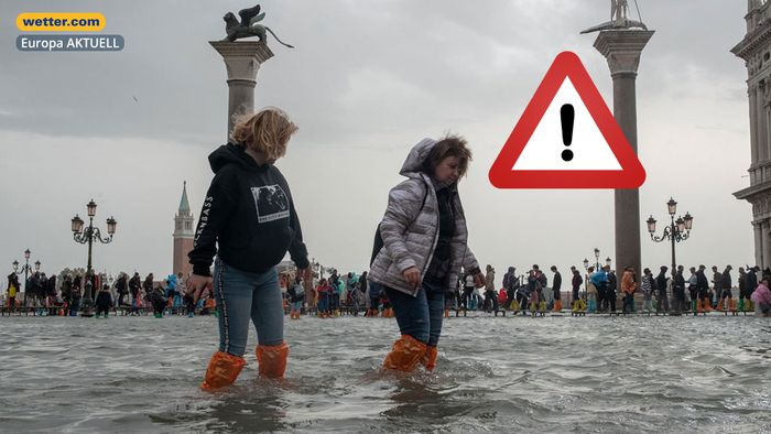 Unwetteralarm am Mittelmeer