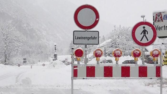 Wetterwarnung: Südalpen drohen ungewöhnliche Schneemassen!