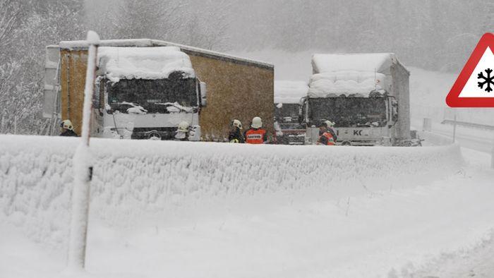 Neue Schneemassen: Keine Entwarnung nach Schneechaos