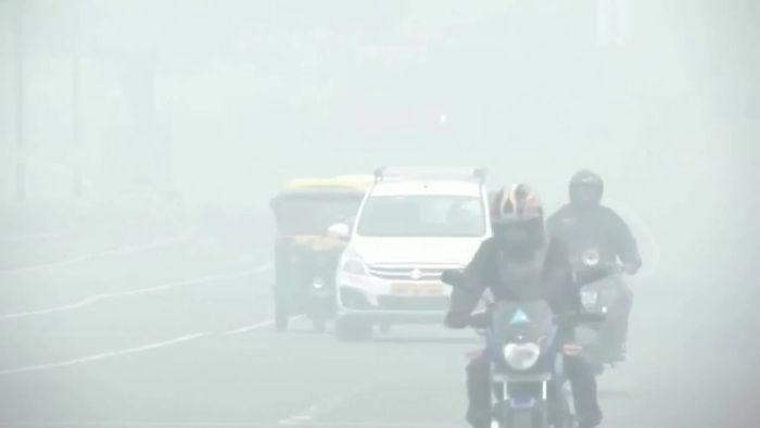 Ekel-Luft: Höchste Warnstufe in Delhi