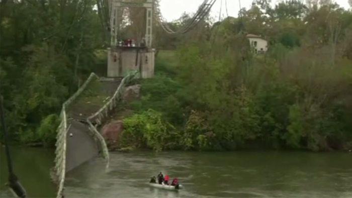Frankreich: Todesopfer nach Brückeneinsturz bei Toulouse