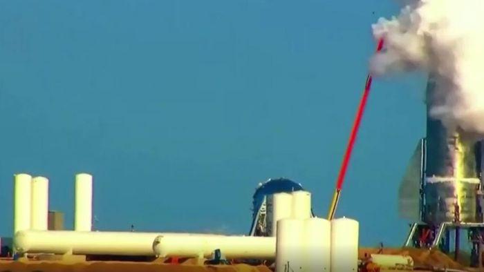 Herber Rückschlag: Testrakete von SpaceX explodiert
