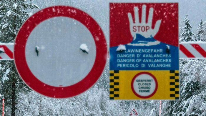Fluten und Lawinen: Neue Unwetterlage in Europa
