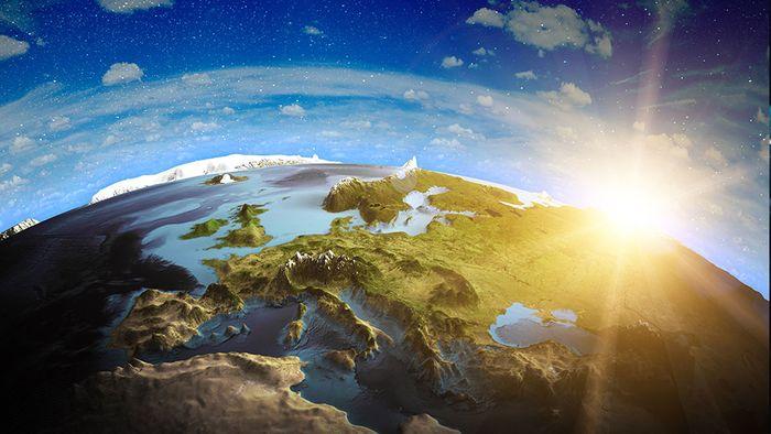 Unser Klima wird von Treibhausgasen beeinflusst.