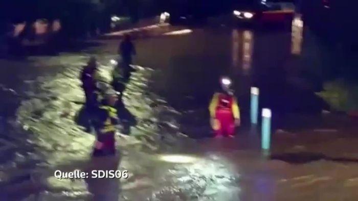 Alarmstufe Rot: Land unter in Südfrankreich