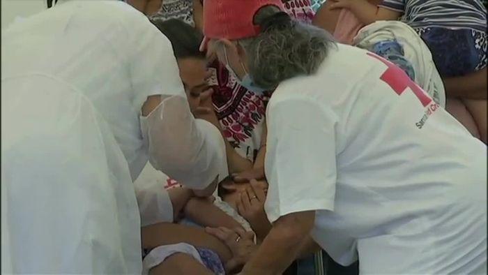 Schon Dutzende Tote bei Masern-Epidemie in Samoa