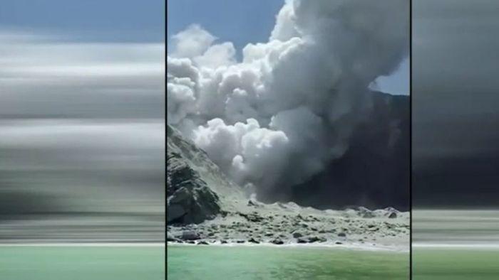 Vulkan Whakaari ausgebrochen: Mehrere Menschen verletzt