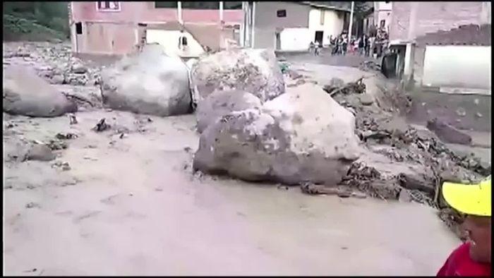 Unwetter in Peru sorgt für Überschwemmungen
