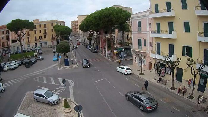 HD Live Webcam Livecam Gaeta - Piazza della Libertà - Corso Cavour