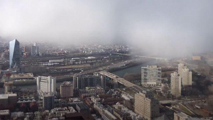 Apokalyptisch: Schneesturm zieht über Philadelphia