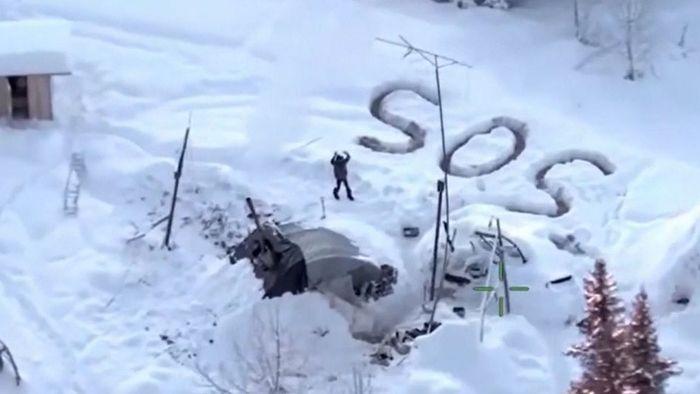 Nach drei Wochen: Mann überlebt eisige Kälte Alaskas