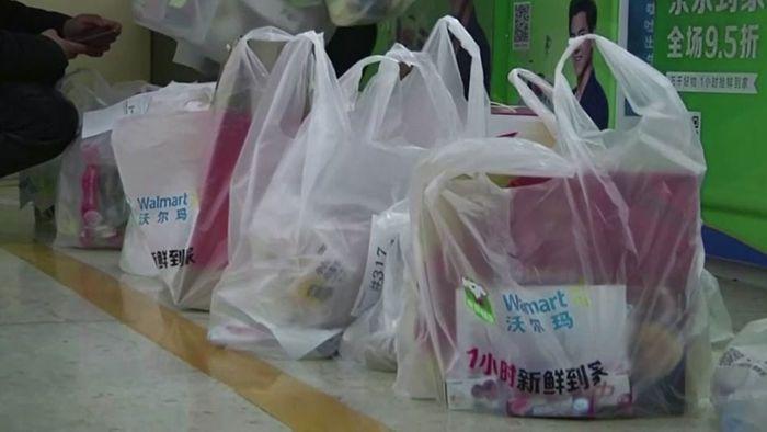 Für den Umweltschutz: China verbietet Plastiktüten