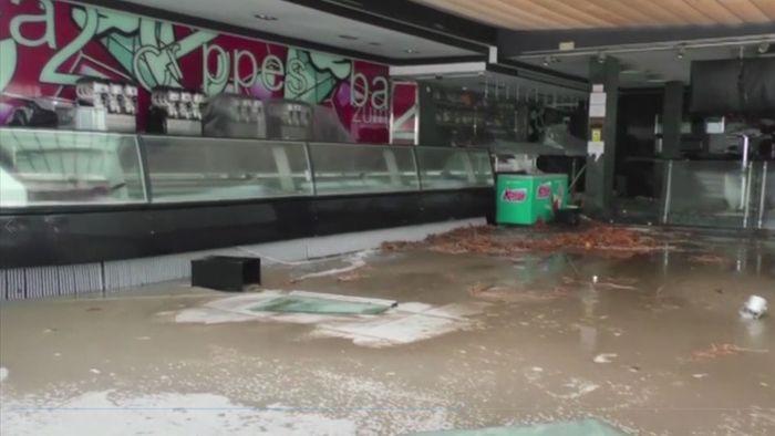 Tote! Sturmtief GLORIA fegt auch über Mallorca