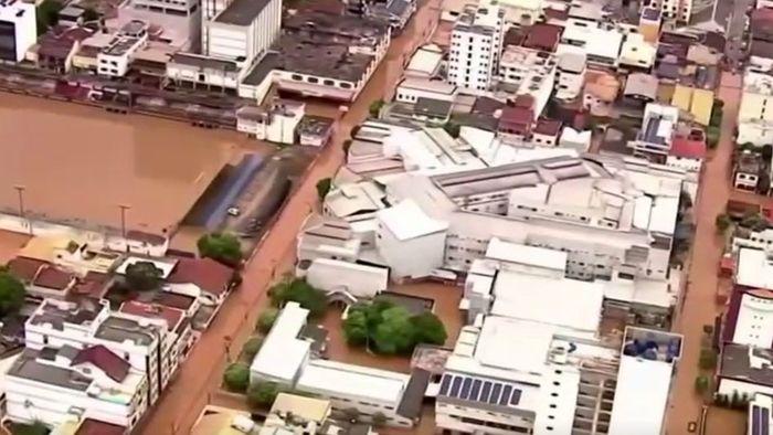 Dutzende Tote durch Überschwemmungen in Brasilien