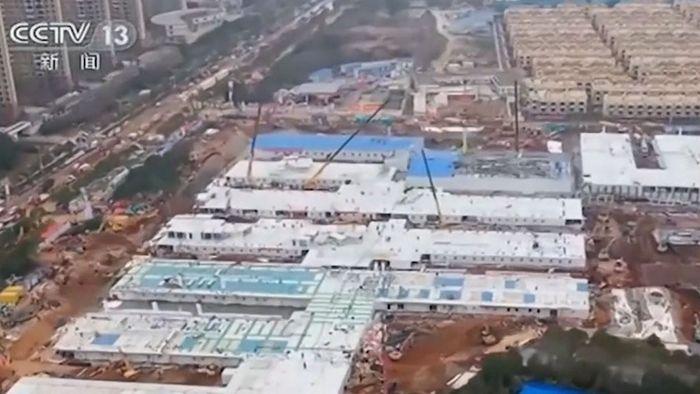 Coronavirus in Wuhan: Krankenhaus in nur 10 Tagen errichtet