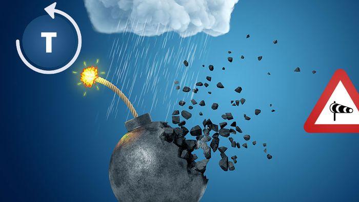 Rekord-Orkantief! Bombogenese bringt Monsterwellen