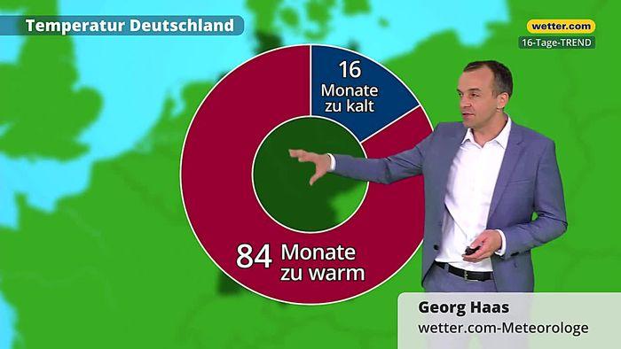 Wetter 16 Tage: Anti-Winter mit historischem Finale