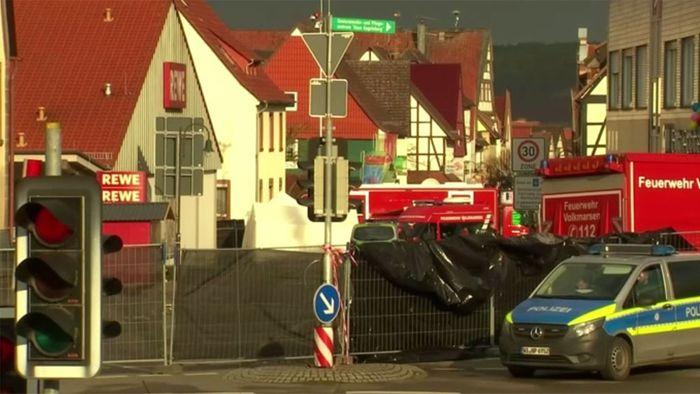 Nach Amokfahrt in Volkmarsen: Anwohner geschockt