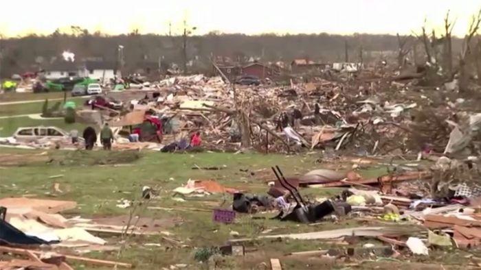 Nashville: Aufräumen nach dem Tornado-Horror