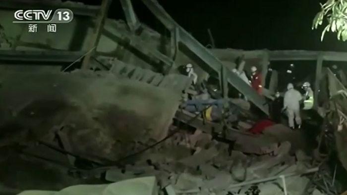 Quarantäne-Hotel in China eingestürzt