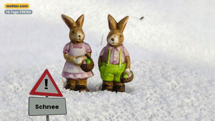 Wetter 16 Tage: Polarluft bleibt - Ostern im Schnee?